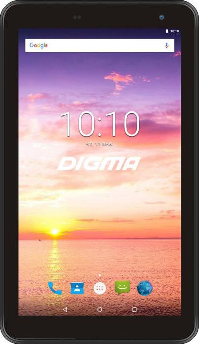 "7"" Планшет Digma Optima 7016N Wi-Fi + 3G 16 GB, черный"