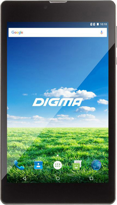 Планшет Digma Plane 7700T Wi-Fi + 4G 8 ГБ, черный планшет 12 дюймов цена