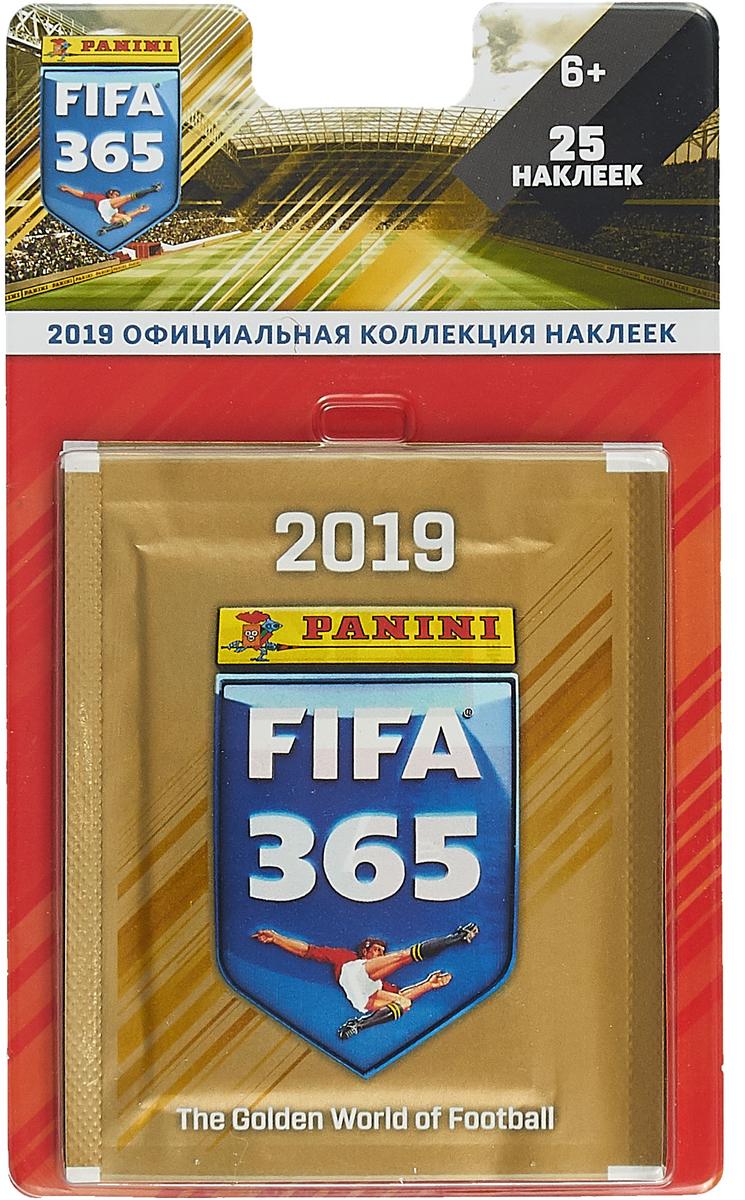 Блистер Panini FIFA 365-2019 (набор из 5 пакетиков наклеек) набор наклеек 7 пакетиков fifa 365 2018