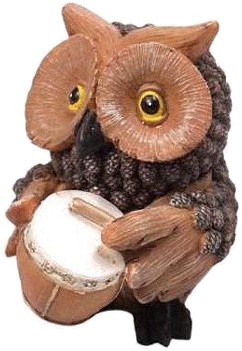 Фигурка декоративная Magic Time Сова с барабаном. 75664 елочные украшения magic time декоративная фигурка