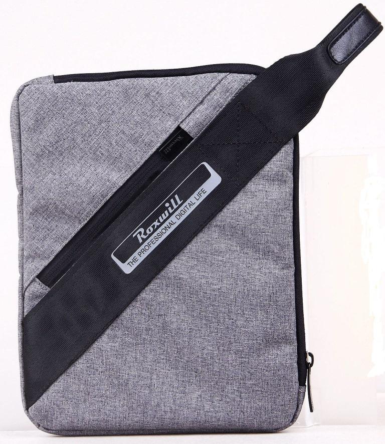 цена на Чехол - сумка Roxwill Z10 для планшета 10,4, цвет серый