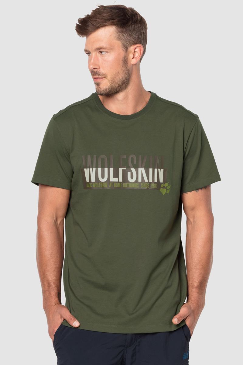 Футболка Jack Wolfskin Slogan T slogan print tee