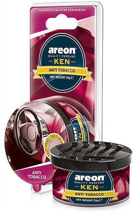 Автомобильный ароматизатор Areon Ken Blister Antitobacco oml 22001 03 omnilux