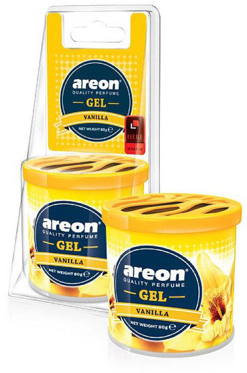 Автомобильный ароматизатор Areon Gel Can Blister Vanilla цены