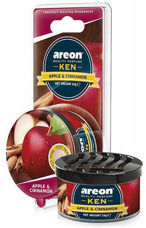 Автомобильный ароматизатор Areon Ken Blister Apple & Spice цена