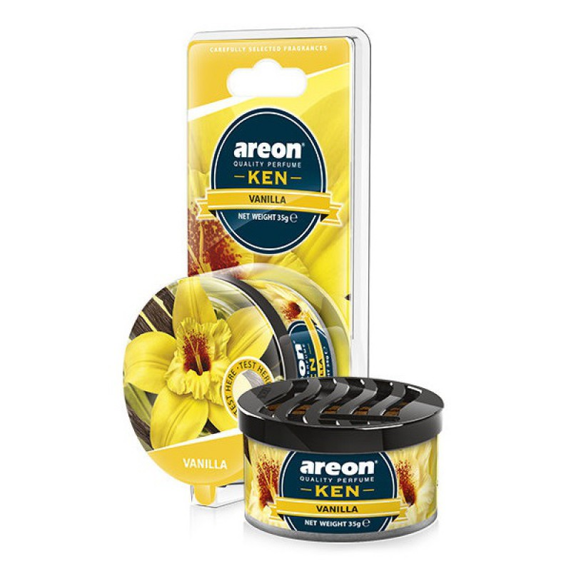 Автомобильный ароматизатор Areon Ken Blister Vanilla цены