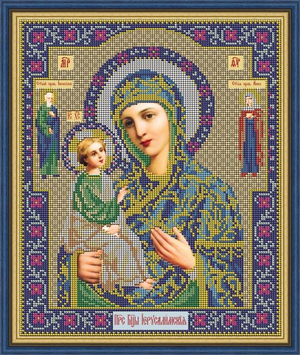 Набор для вышивания Galla Collection бисером «Икона Божией Матери Иерусалимская», 25 x 31 см икона юлия бисер