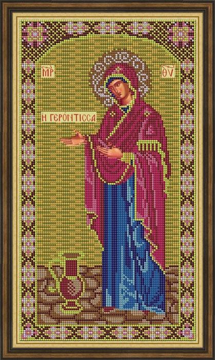 Набор для вышивания бисером Galla Collection «Икона Божией Матери Геронтисса», 20 х 36 см икона юлия бисер