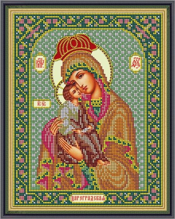 Набор для вышивания Galla Collection бисером «Икона Божией Матери Цареградская», 20 х 26 см икона юлия бисер