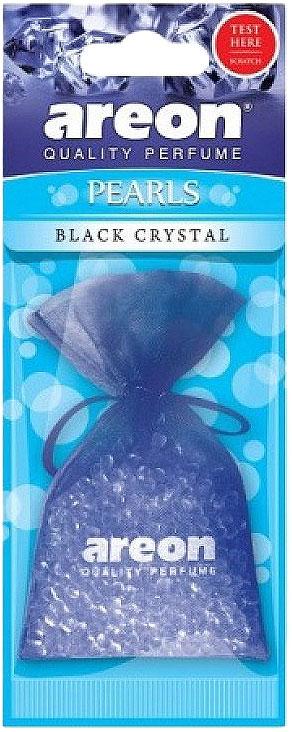 Автомобильный ароматизатор Areon Pearls Black Crystall автомобильный ароматизатор areon pearls bubble gum