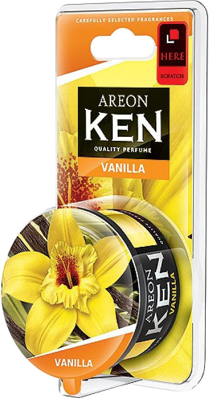 Автомобильный ароматизатор Areon Ken Blister Vanilla Mia цена