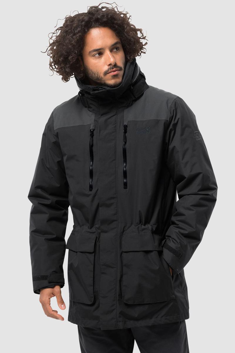 Куртка Jack Wolfskin Yukon Parka куртка мужская jack wolfskin yukon parka цвет черный 1109772 6000 размер xl 52