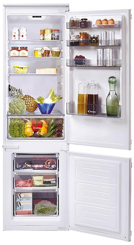 Холодильник Candy CKBBS 182, цвет: белый цена и фото