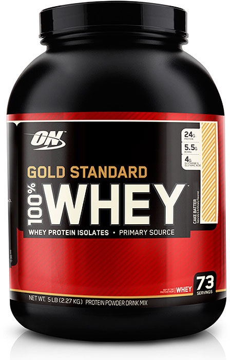 Протеин Optimum Nutrition 100% Whey Gold Standard Cake Batter, заварное пирожное, 2,27 кг multi whey