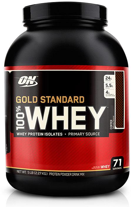 Протеин Optimum Nutrition 100% Whey Gold Standard Coffee, кофе, 2,27 кг multi whey