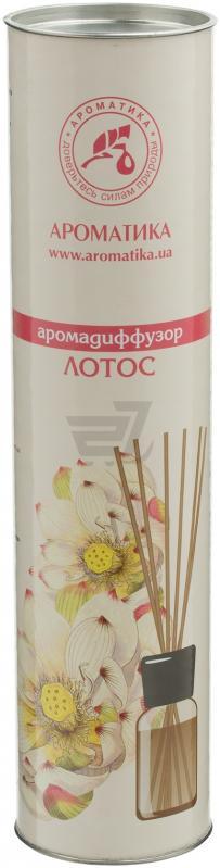 Ароматизатор интерьерный Ароматика Лотос, аромадиффузор, 100 мл цена
