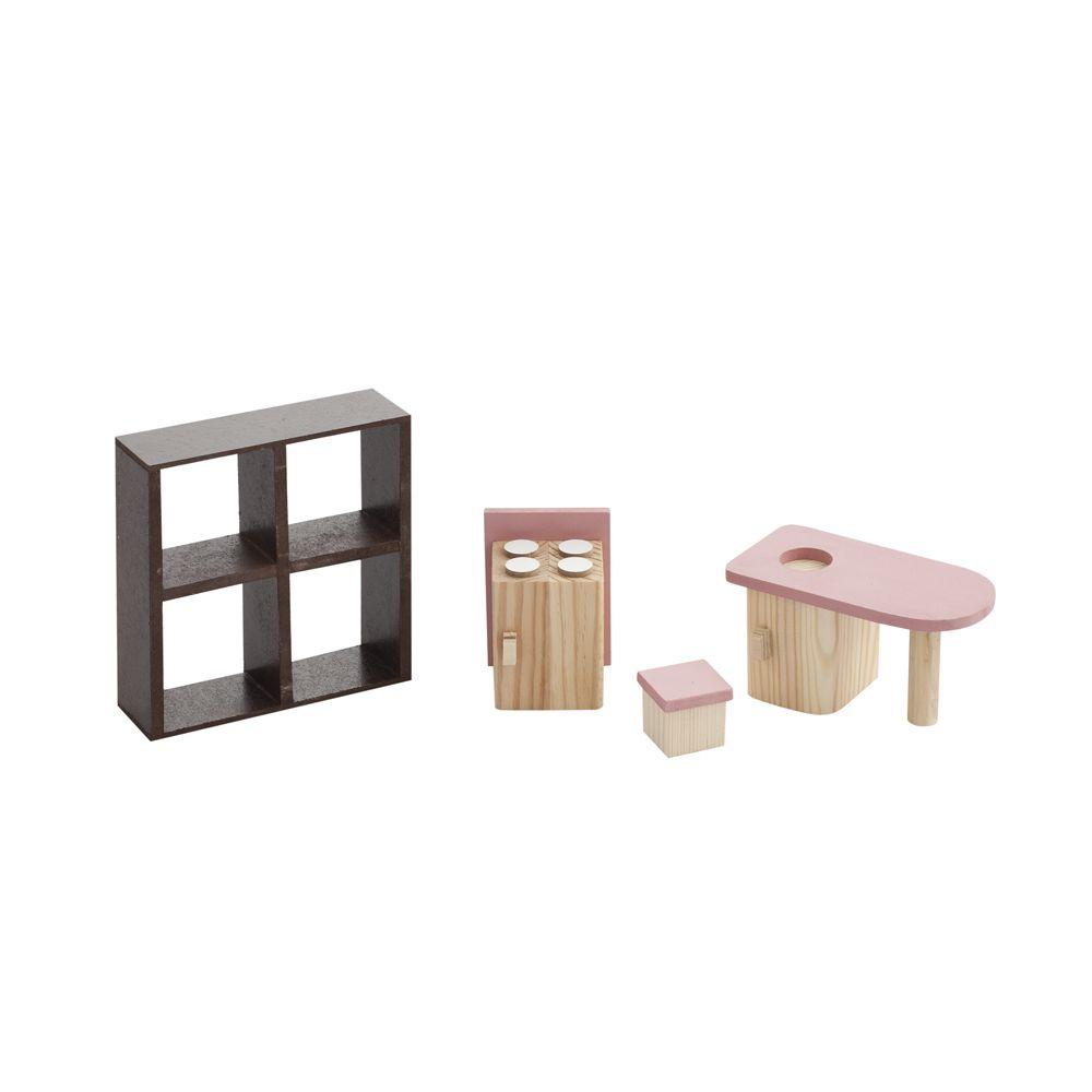 Набор мебели для кукол Paremo Кухня, PDA517-02 кукольная мебель paremo гостиная