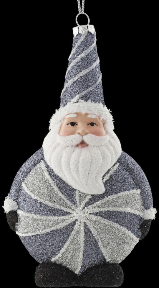 Игрушка елочная Erich Krause Decor Конфетный Санта, 15 см erich krause украшение на елку erichkrause санта с колокольчиком 6 см