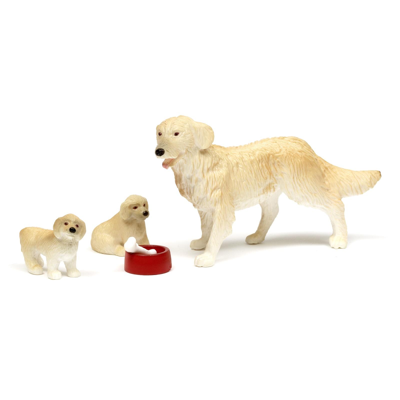 Фото - Домашние животные для кукольного домика Lundby Пес семьи со щенками, LB_60805500 аксессуары для домика lundby домашние животные
