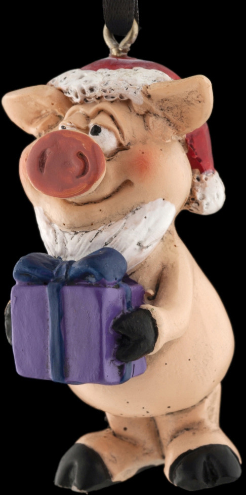 Игрушка елочная Erich Krause Decor Вам подарок, 5 см erich krause сувенир пес в ошейнике 11 см