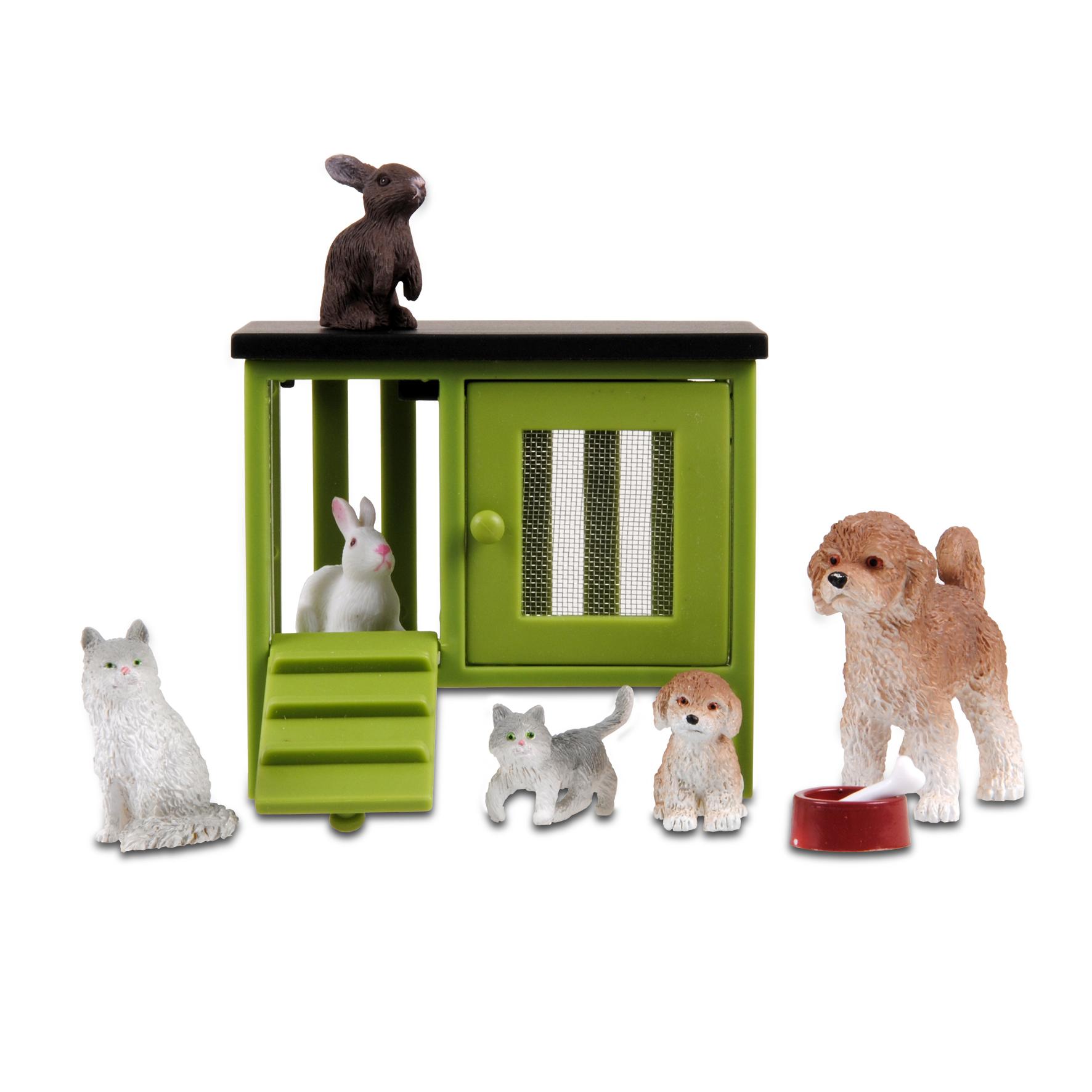Фото - Домашние животные для кукольного домика Lundby Стокгольм, LB_60905800 аксессуары для домика lundby домашние животные