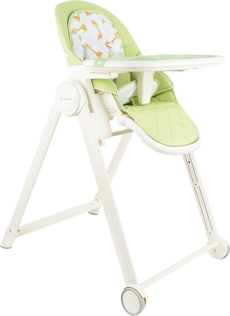 Стульчик для кормления Capella, GL000840550, зеленый для кормления малыша