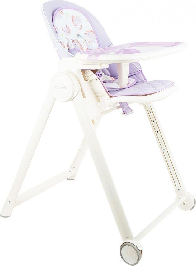 стульчик для кормления capella s 207 зеленый Стульчик для кормления Capella, GL000840548, сиреневый