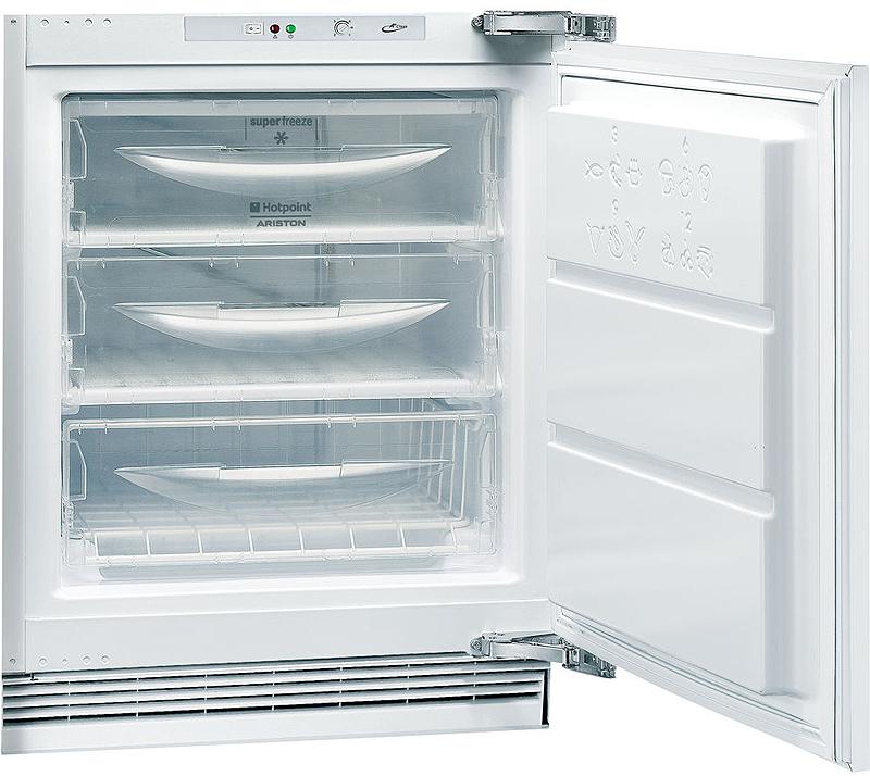 Морозильник Hotpoint-Ariston BFS 1222.1, F083834, встраиваемый, белый