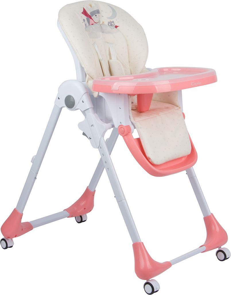 стульчик для кормления capella s 207 зеленый Стульчик для кормления Capella, GL000840522, розовый