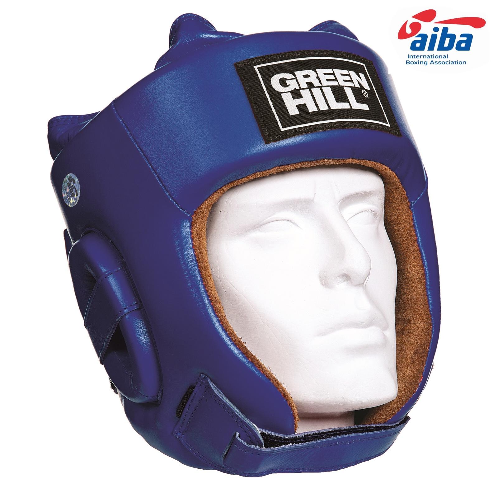 Шлем Green Hill FIVE STAR AIBA HGF-4012_BU_1, синий, размер L все цены