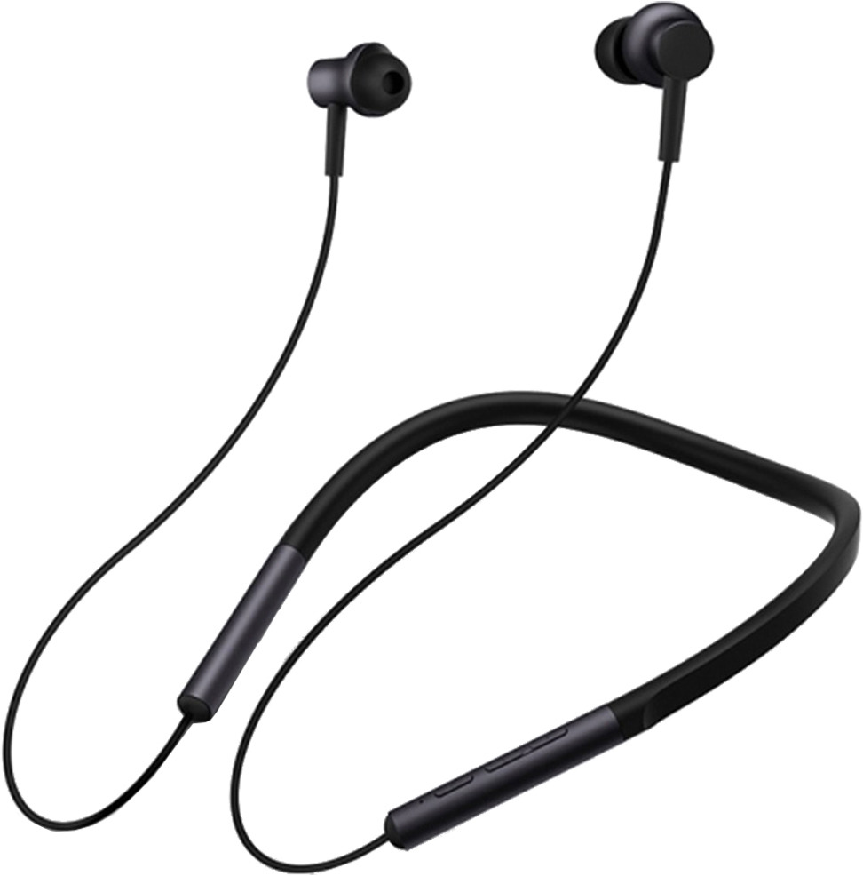 Наушники Xiaomi Collar Bluetooth Headset, LYXQEJ01JY, черный стоимость