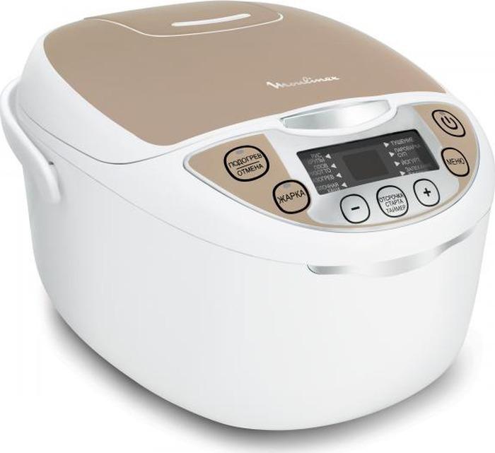Мультиварка Moulinex MK706A32, белый, бежевый цены онлайн