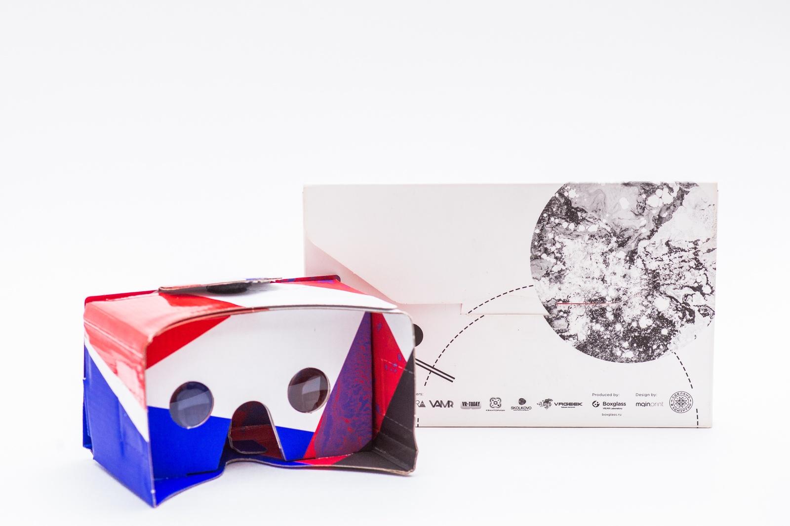 Очки виртуальной реальности Oyster, OYSVRGL01 цена и фото