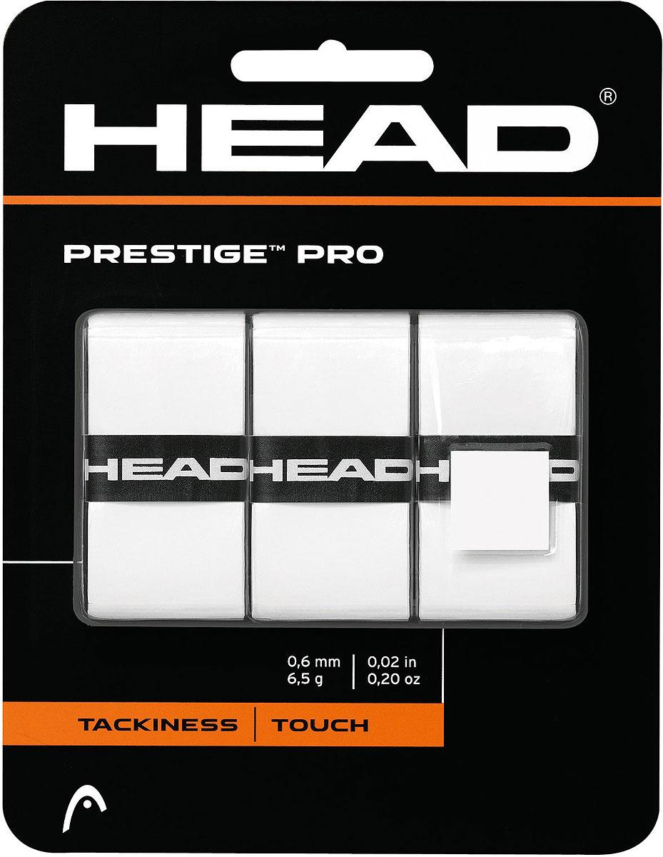 Намотка тонкая Head Prestige Pro Overwrap, цвет: белый