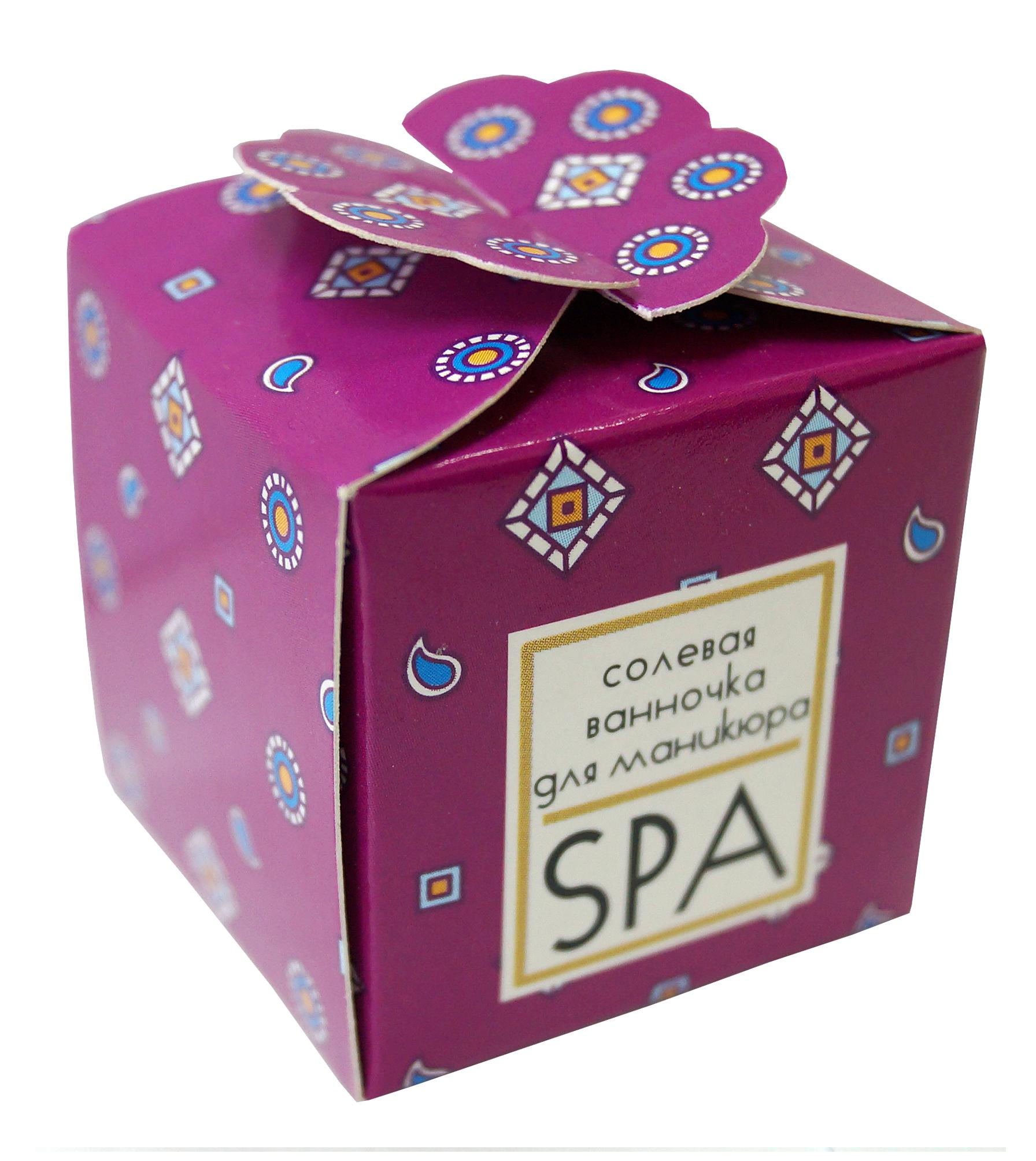 Солевая ванночка Spa by Lara для ногтей 40г Spa by Lara