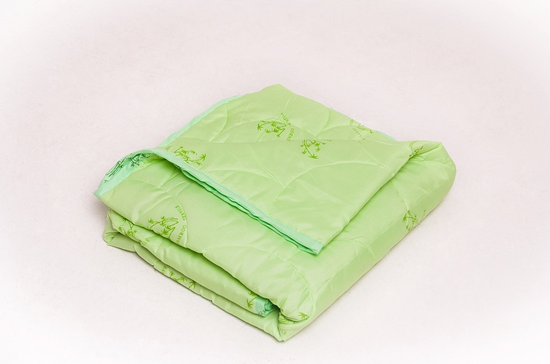"""Одеяло Традиция Стандарт """"БАМБУК"""" облегченное, 1825, полиэстер, 2 сп. Зеленый"""