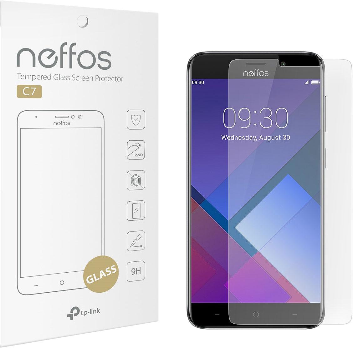 Защитное стекло Neffos C7-SP-G для Neffos С7 смартфон tp link neffos c7 sunrise gold