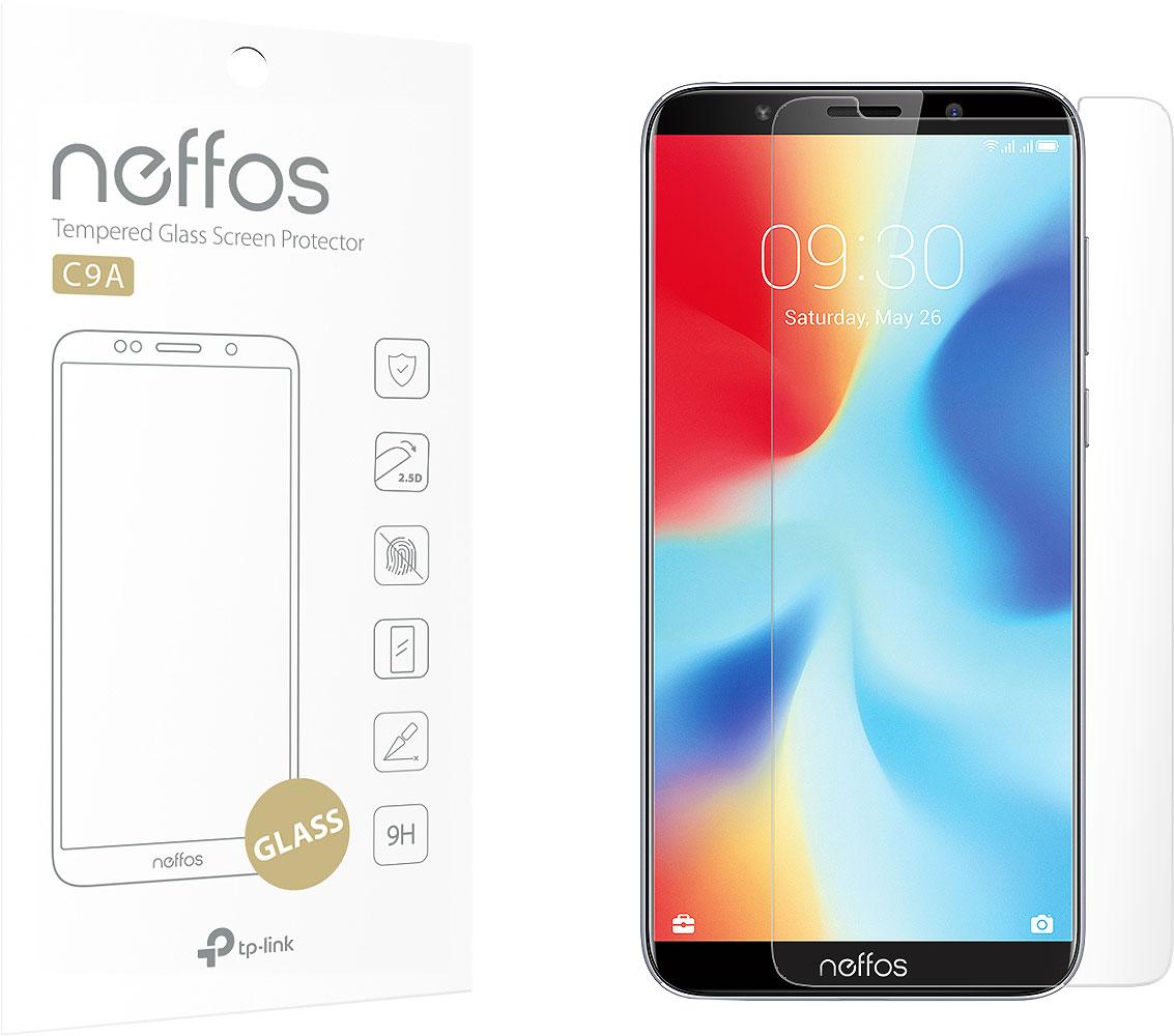 Защитное стекло Neffos C9A-SP-G для Neffos С9A сотовый телефон neffos c9a moonlight silver nef tp706a64ru