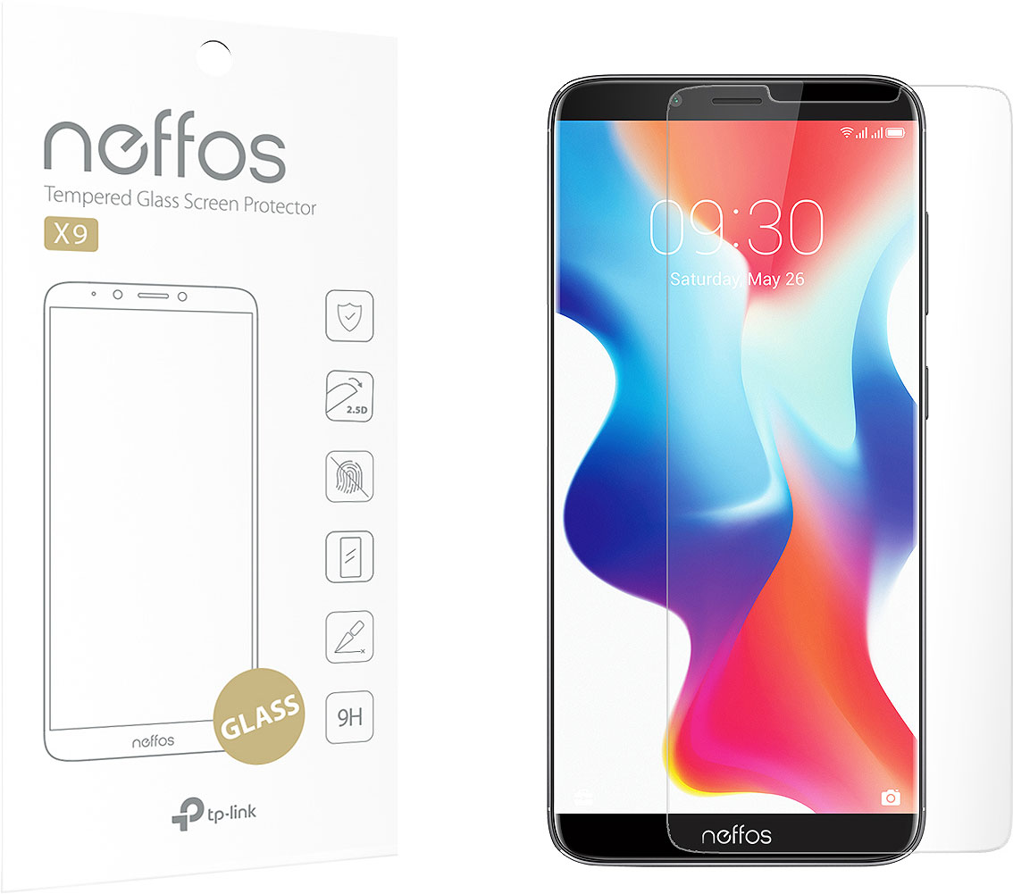 Защитное стекло Neffos X9-SP-G для Neffos X9 смартфон tp link neffos с9 moolight silver