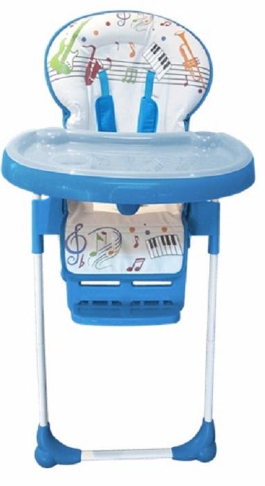 стульчики для кормления Стульчик для кормления Everflo Quartet, ПП100004228, синий, белый