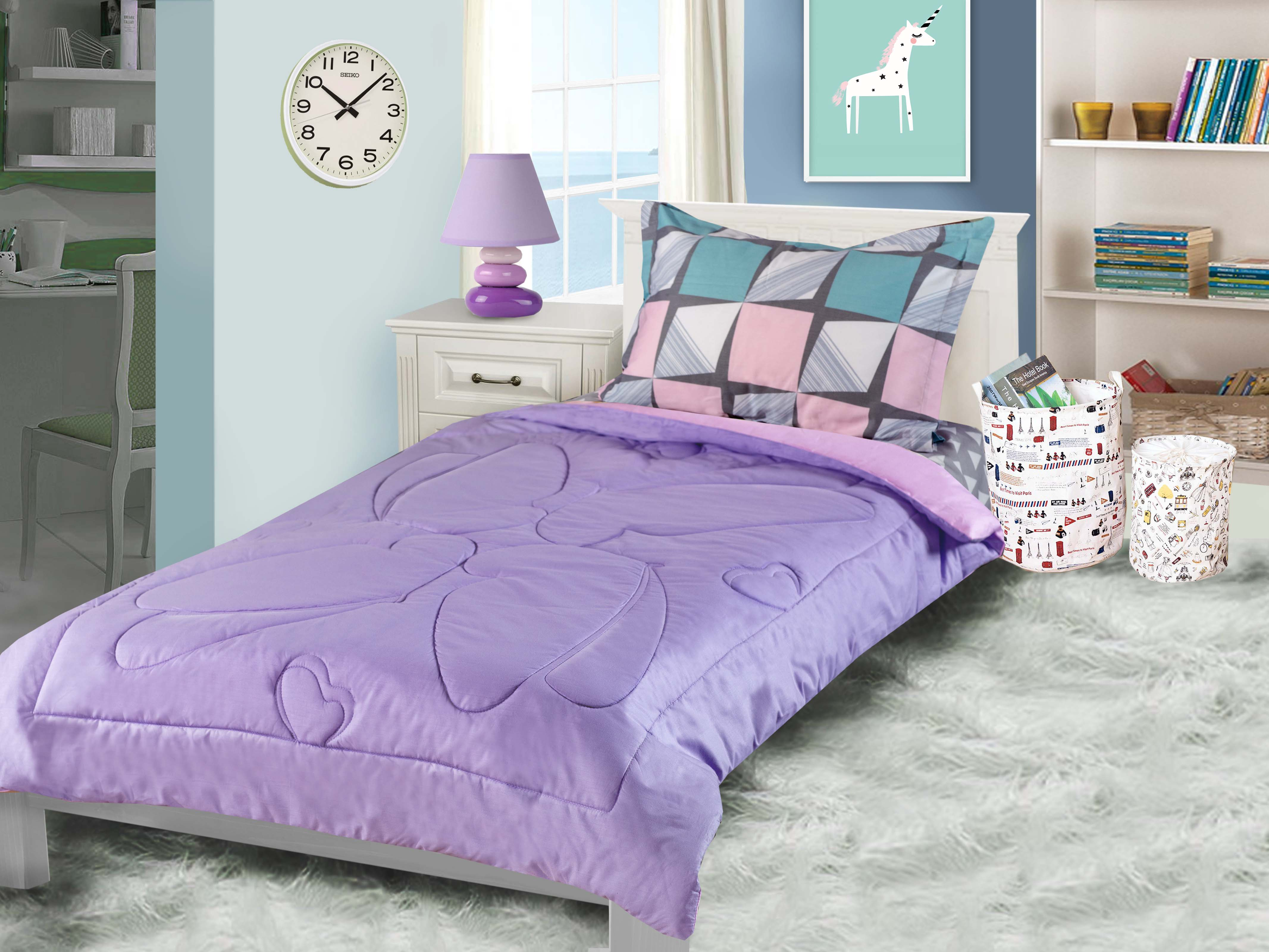 Одеяло детское Primavelle покрывало Primavelle Ummi. Бабочки 110 х 140 см, розовый, сиреневый одеяло primavelle tiziana