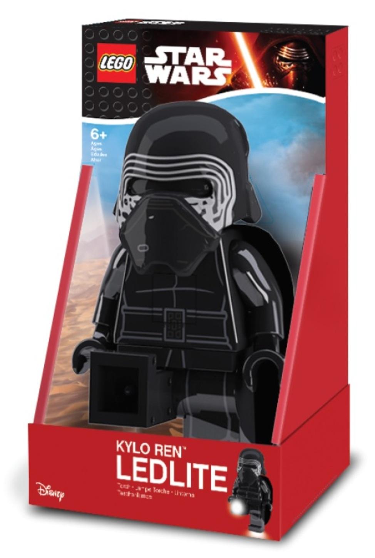 Игрушка-фонарь Lego Star Wars Kylo Ren, LGL-TOB31T, черный