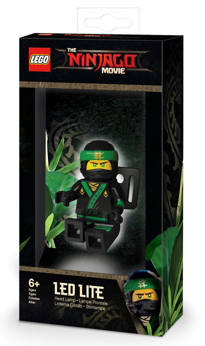 LGL-HE24 Налобный фонарик LEGO Ninjago Movie (Лего Фильм: Ниндзяго)-Lloyd