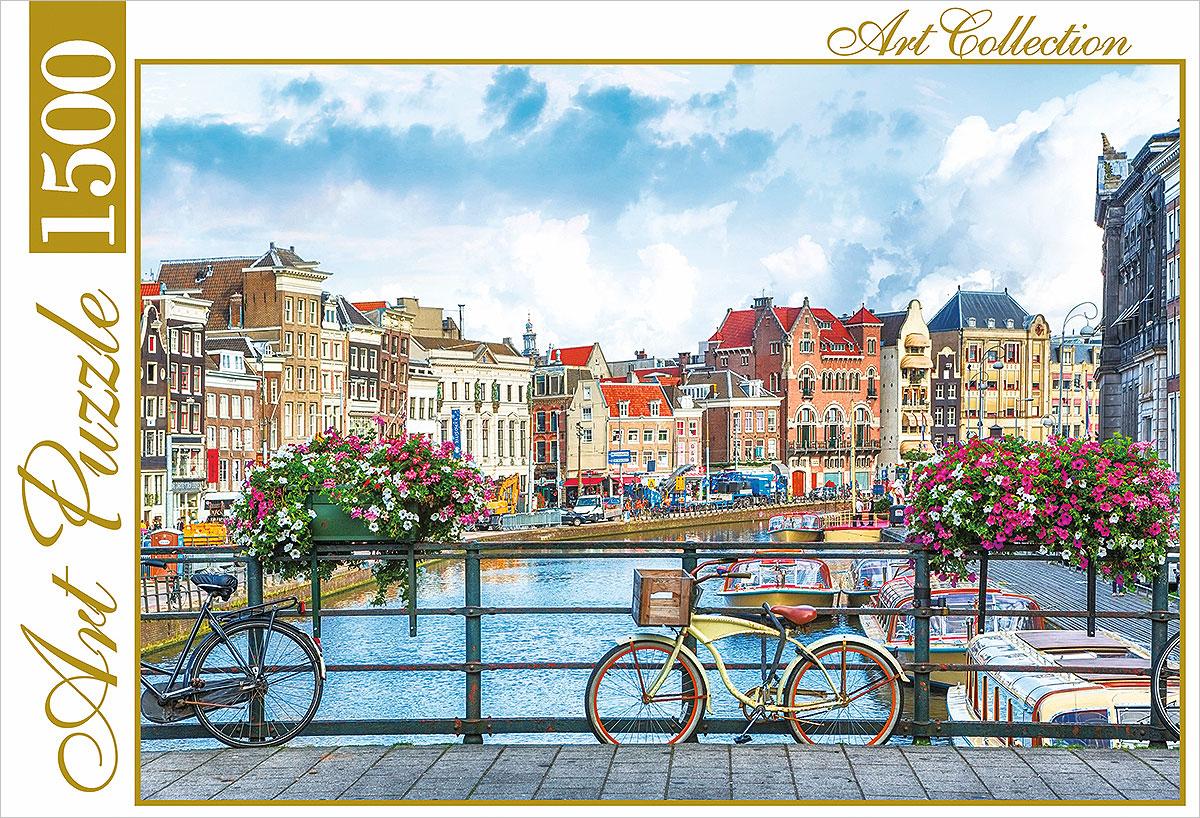 Пазл Рыжий Кот Летний Амстердам мировая классика