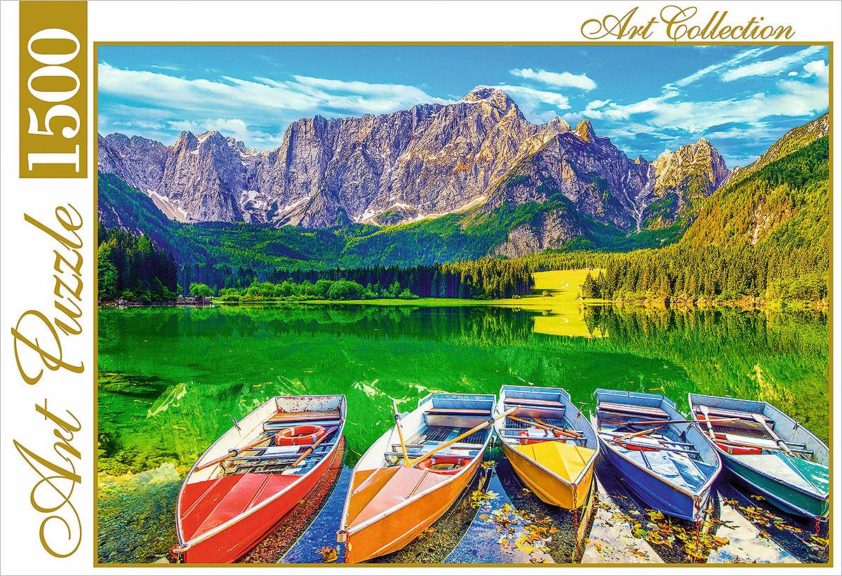 Пазл Рыжий Кот Озеро в горах мировая классика