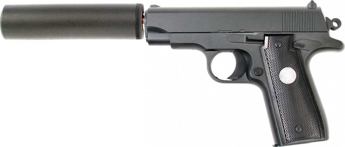 где купить Пистолет софтэйр Galaxy G.2A, пружинный, цвет: черный, 6 мм дешево
