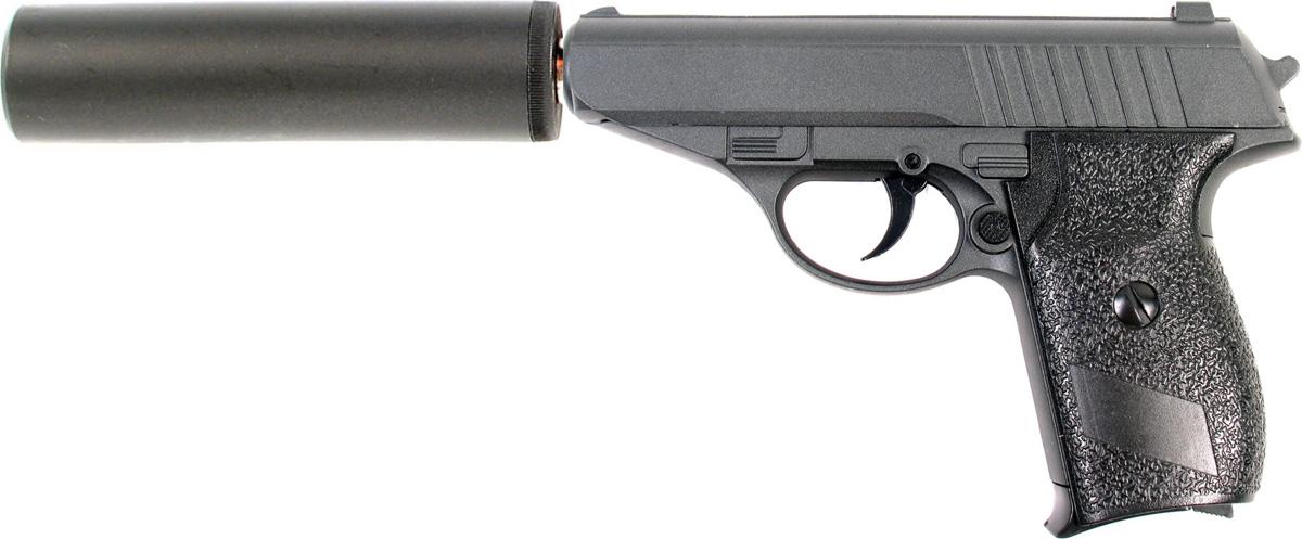 Пистолет софтэйр Galaxy G.3A, пружинный, цвет: черный, 6 мм цена и фото