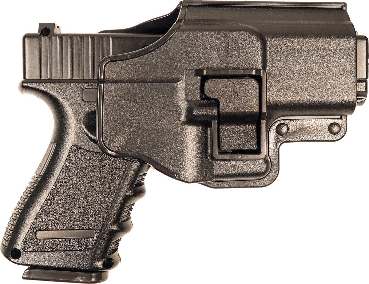 Пистолет софтэйр Galaxy G.15+, с кобурой, пружинный, цвет: черный, 6 мм цена и фото