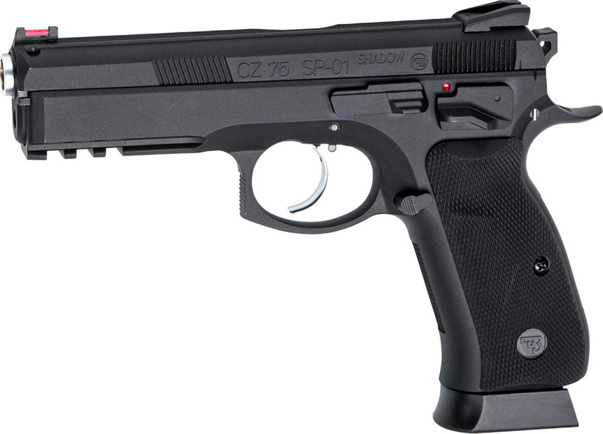 Пистолет софтэйр ASG CZ SP-01 SHADOW (18409), цвет: черный, 6 мм