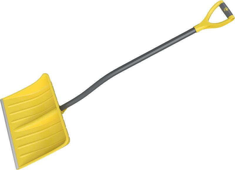 Лопата снеговая Cycle Expert Viking, цвет: желтый, длина 150 см